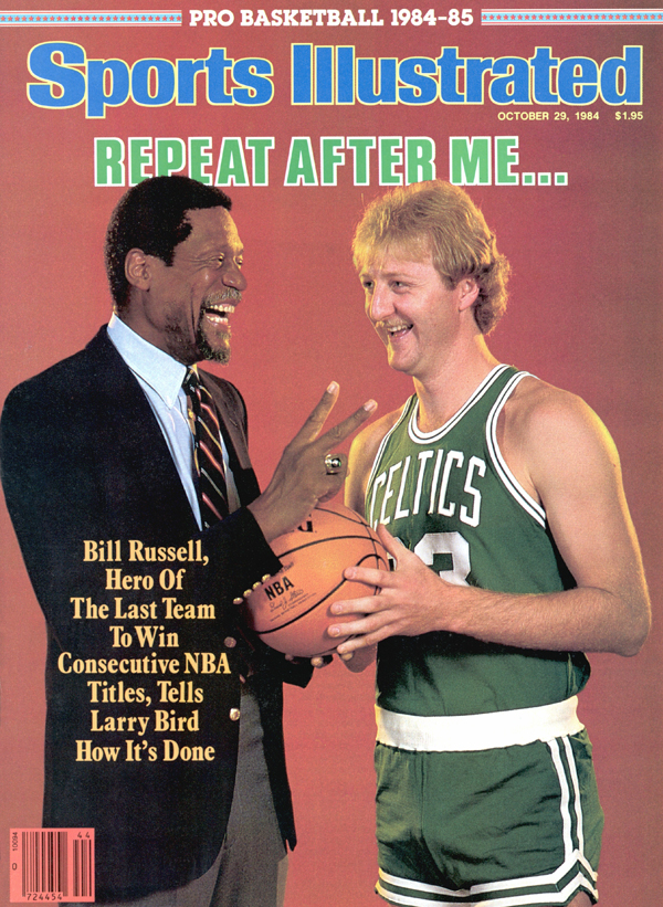 Bill Russell and Larry Bird (1984-85)
