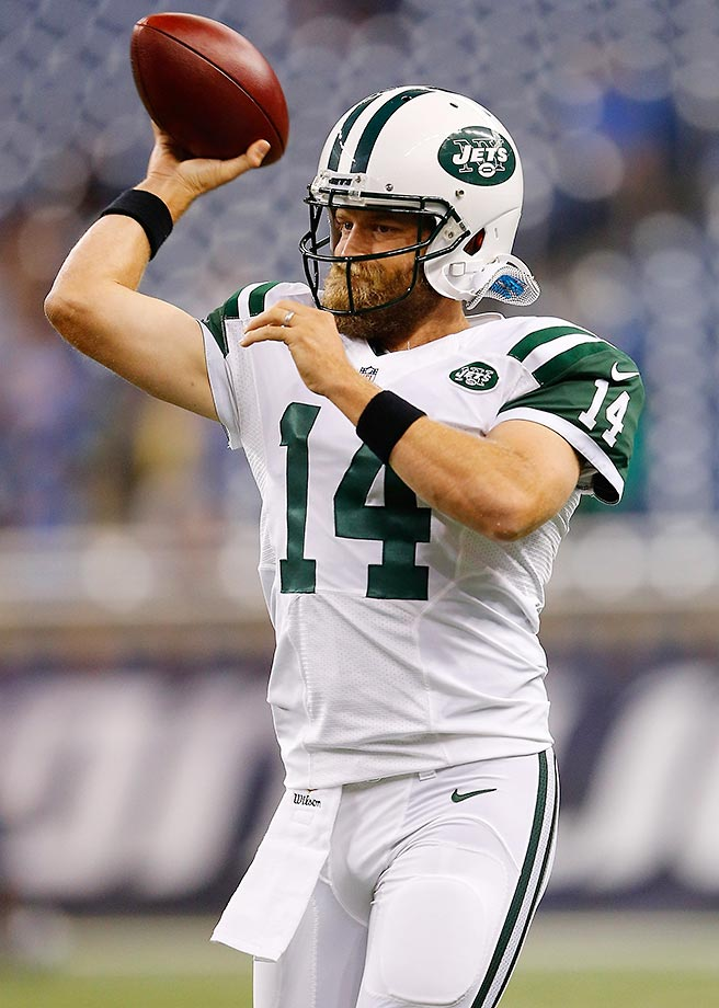 Fitzpatrick will be Geno Smith's replacement as Smith recovers from his broken jaw, and it's reasonable to say that Fitzpatrick is an upgrade. He's a veteran with a better deep ball than people may think, and he's a reliable field general as long as his limitations are kept in check.
