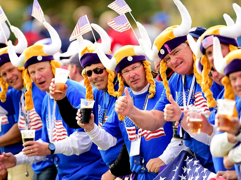 Ryder Cup fans.