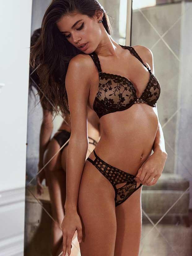 New Vs Angel Sara Sampaio Seduces In Sexy Lingerie Photos