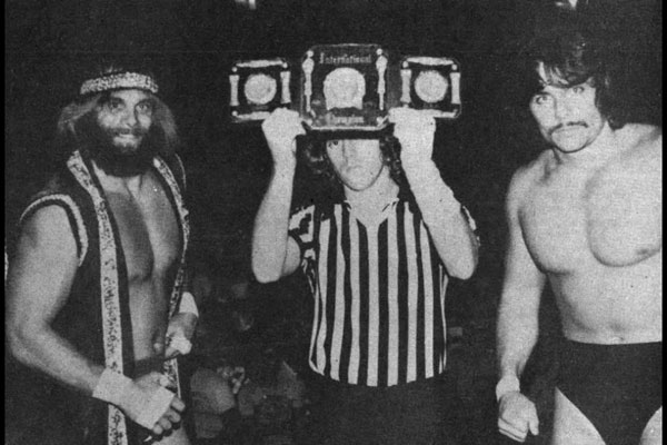 Randy Savage and Lanny Poffo
