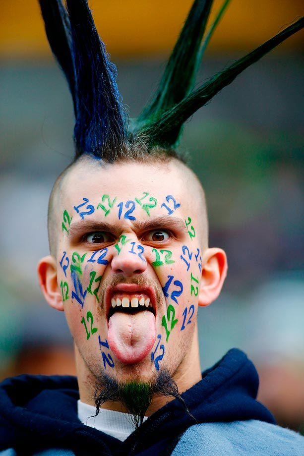 This Seahawks fans will be ready for the Patriots.