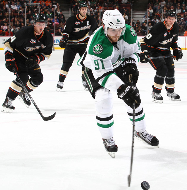 Drafted in 2010 by the Boston Bruins, center Tyler Seguin has a meticulous workout that produces results you can see in his psychical play on the ice for his current team, the Dallas Stars.