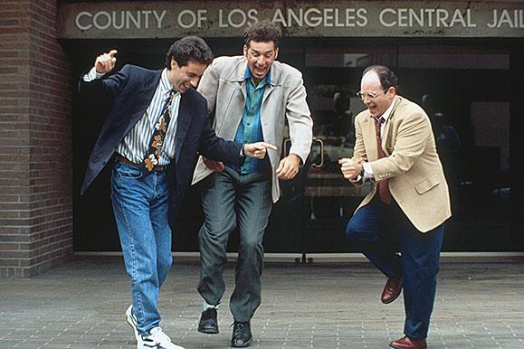 Jerry Seinfeld, Michael Richards and Jason Alexander
