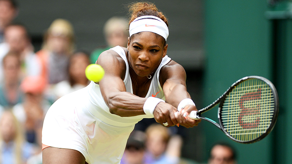 Serena Williams was upended in the fourth round of Wimbledon last year by eventual finalist Sabine Lisicki.