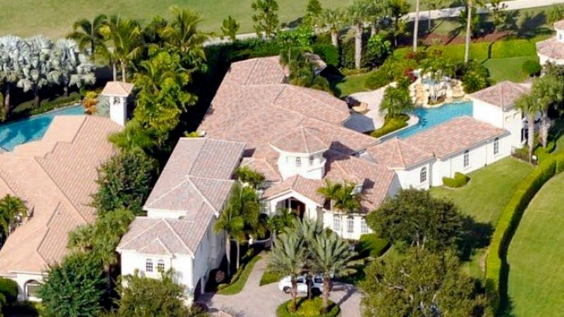Serena's house in Palm Beach Gardens.