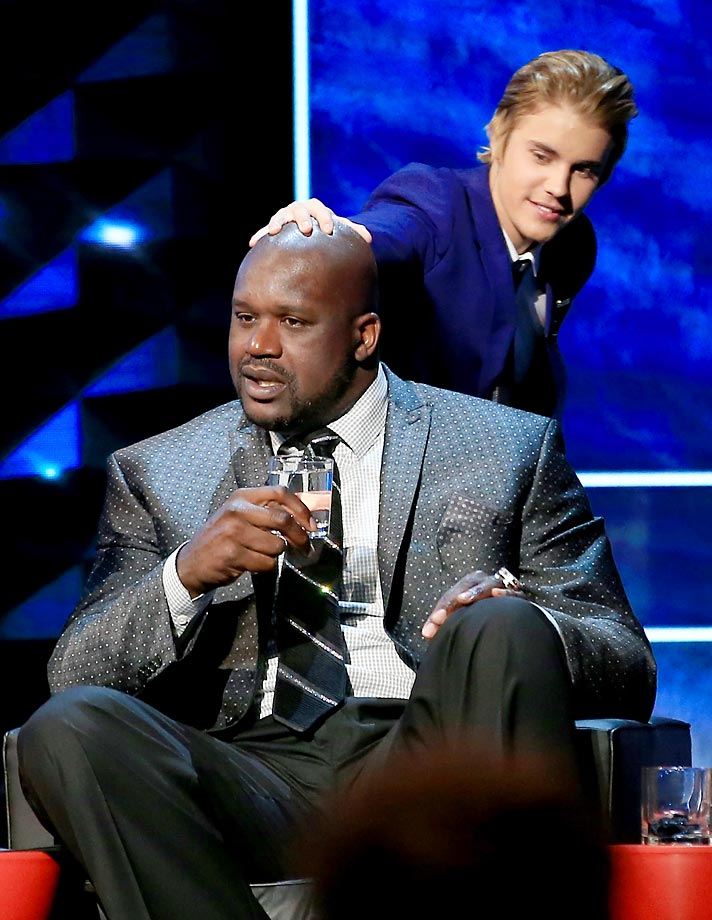 We usually stay clear of the Bieb in these galleries, but thought Shaquille O'Neal deserved the mention. Shaq was onstage during Justin Bieber's Comedy Central Roast.
