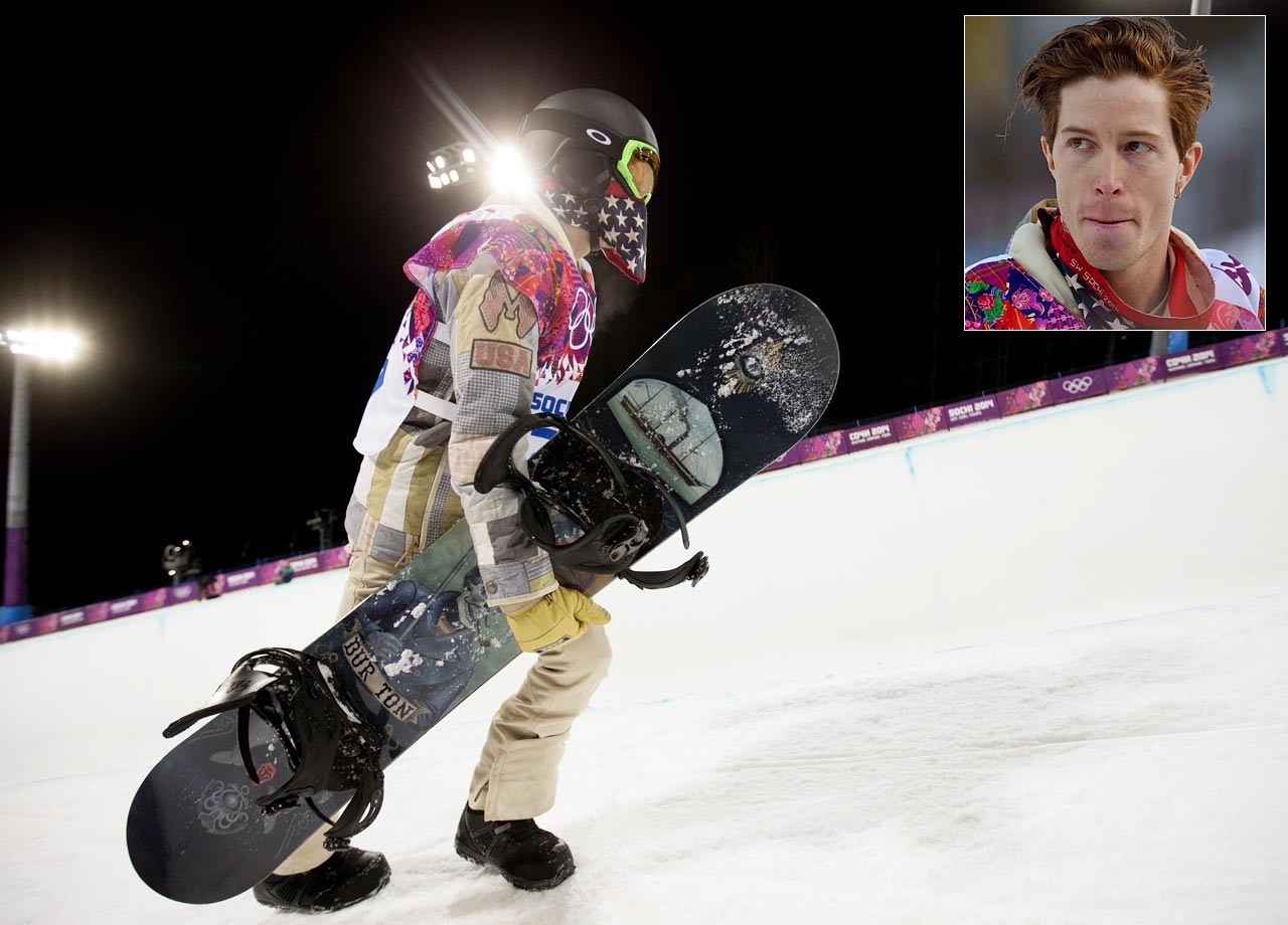 Expectations were high for American snowboarder Shaun White entering the men's halfpipe competition. An overwhelming favorite to claim gold for the third straight Olympics – which would have been a first for an American winter athlete - White even dropped out of the slopestyle event a few days prior to focus on his signature event. At the halfpipe, however, White failed to medal at all, finishing in fourth place.