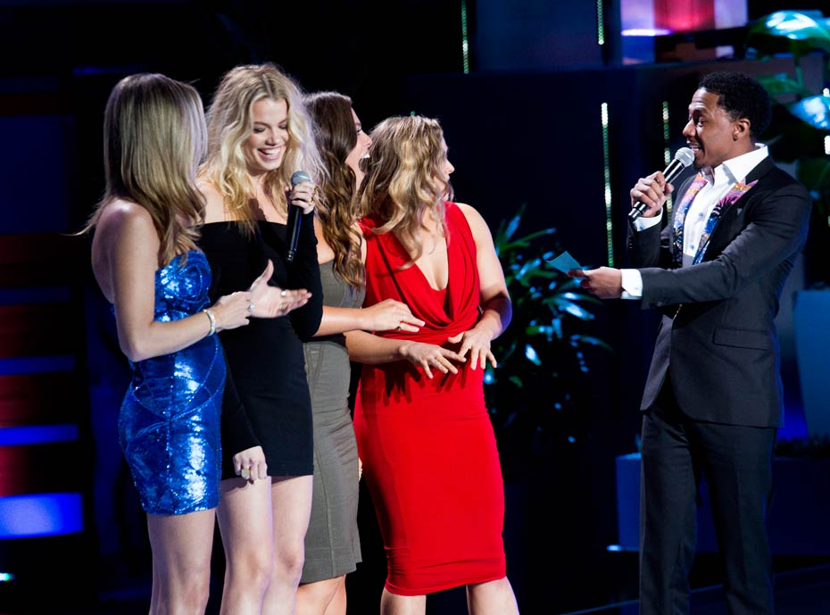 Rebecca Romijn, Ashley Graham, Hailey Clauson, Ronda Rousey and Nick Cannon
