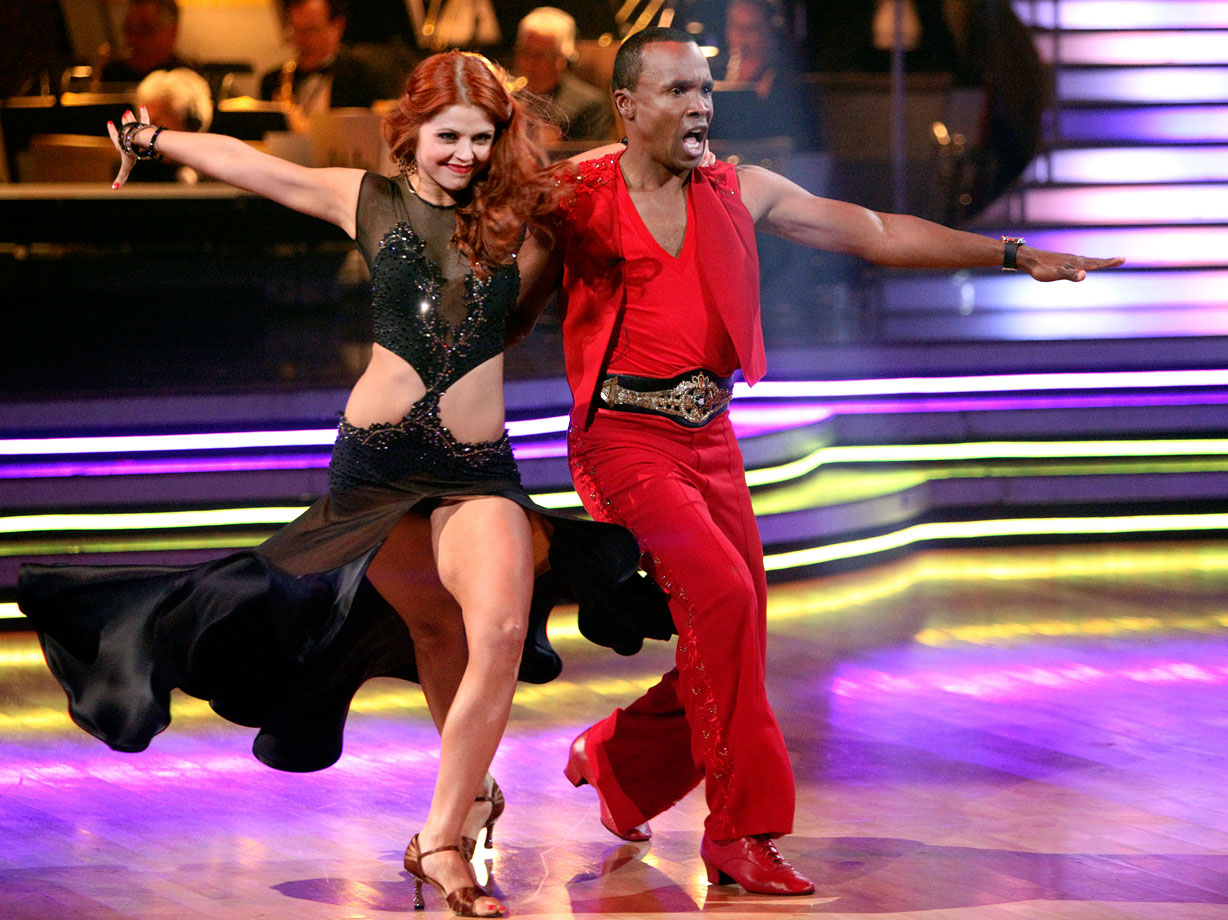Retired professional boxer Sugar Ray Leonard finished in 9th place with dancing partner Anna Trebunskaya in Season 12.