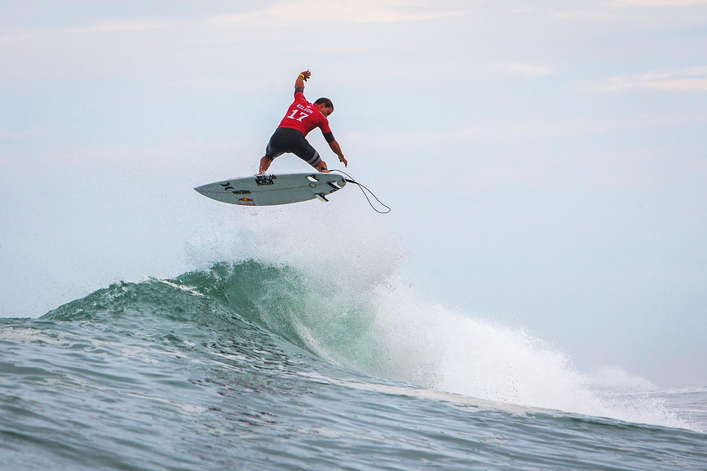 Julian Wilson seems to be heading in the wrong direction at the Quiksilver Pro France.