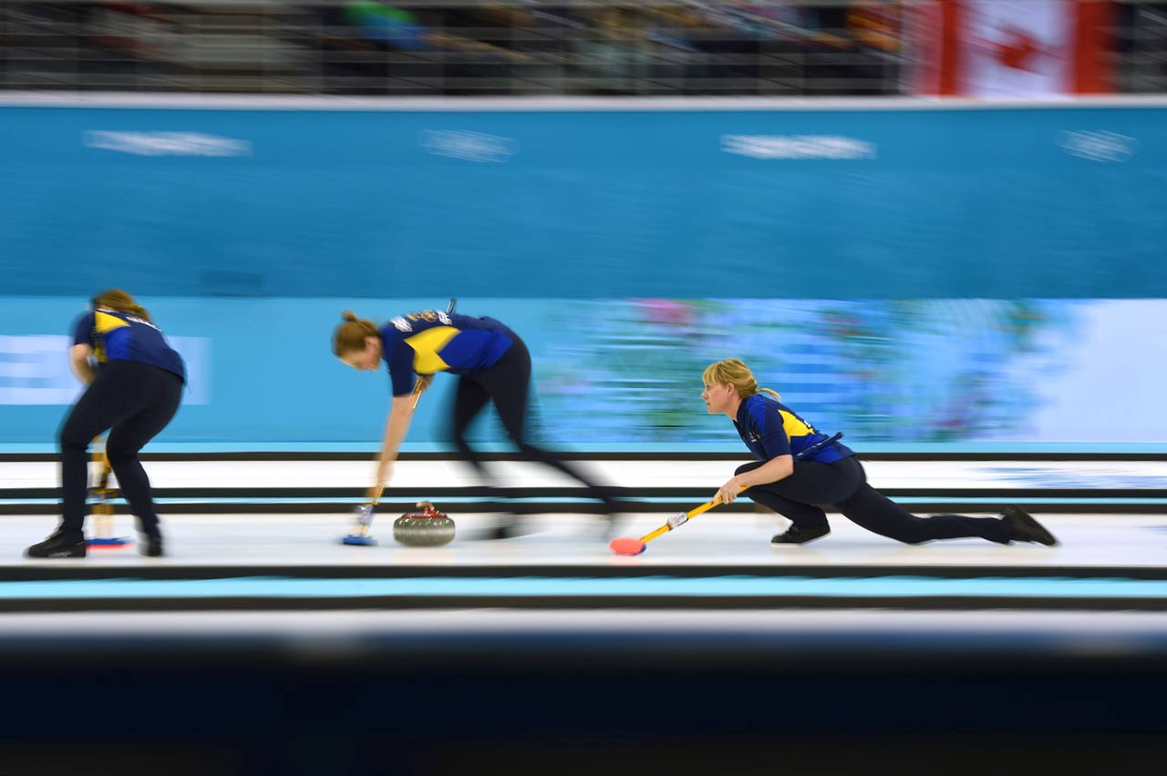 For the Swedish curling team, the silver medal goes with their second-place finish at the world championship and first in the European championship.