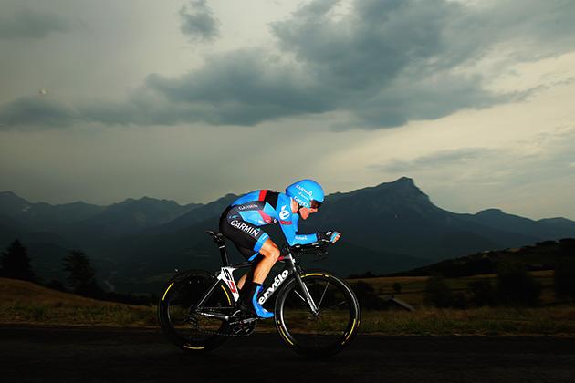 Andrew Talansky of the USA and Team Garmin- Sharp