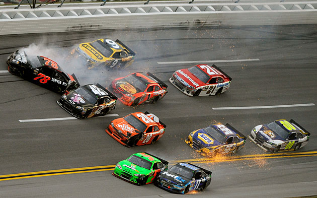 talladegas big ones crash lore looms over new chase race