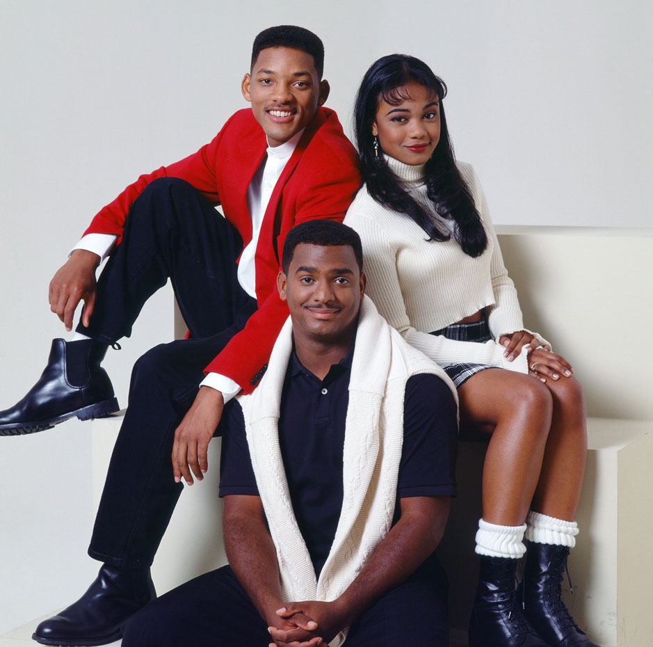 Tatyana Ali, Will and Carlton :: Getty Images