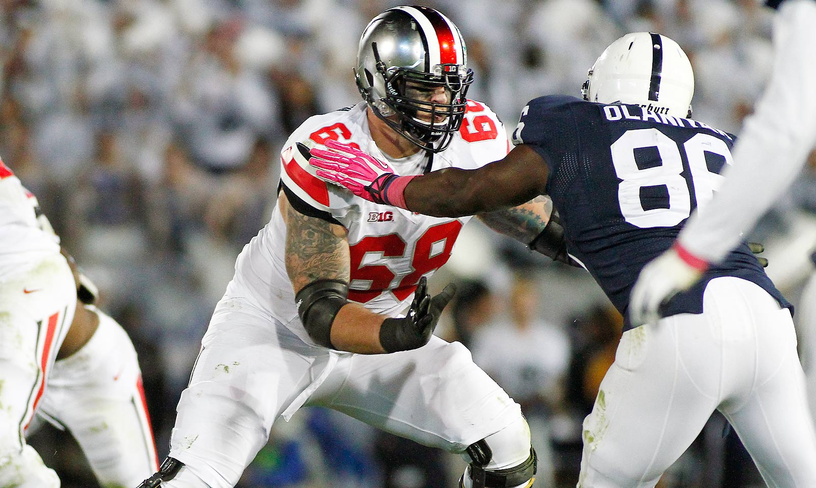 Decker is an absolute load along the offensive line for the Buckeyes. He not only paved the way for Ezekiel Elliott's late-season exploits, but he was also able to keep all three of Ohio State's quarterbacks relatively clean in the pocket. Decker's dominance on the line should help the Buckeyes' high-powered offense continue to shine this fall.