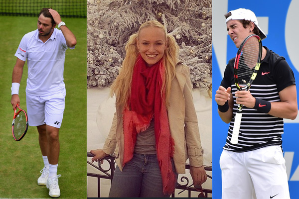 Stan Wawrinka, Donna Vekic and Thanasi Kokkinakis