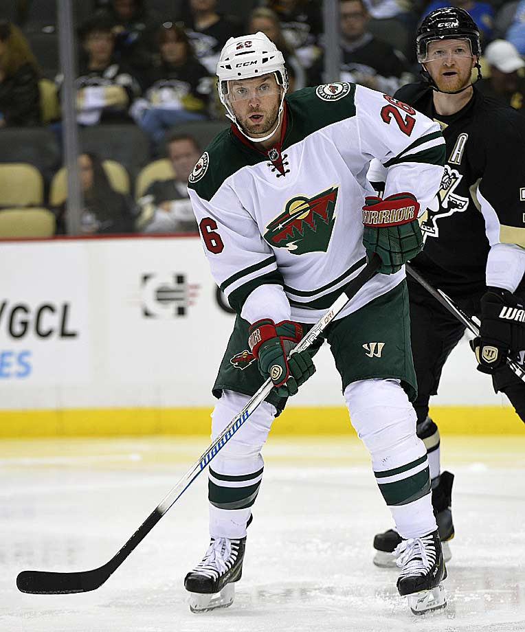 After playing for three teams last season, the Austrian winger signed a three-year deal this summer with a fourth, the Wild. Given Minnesota's offensive depth, Vanek—freed from the burden of facing top defense pairings every night as he did while playing for the the Sabres and the Islanders in 2013–14—could flourish in a triumphant return to his adopted home state (he won an NCAA title with Minnesota in 2003).