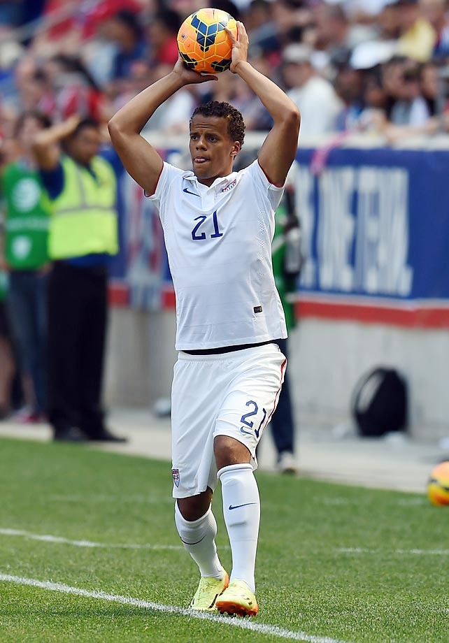 Timmy Chandler, the son of a German mother and an American father, was born in Frankfurt, Germany, in 1990.  He is a defender who has won 13 caps for the USMNT.