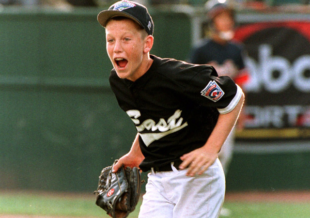 Todd Frazier was a hero on the mound and at the plate for Toms River in the 1998 Little League World Series.