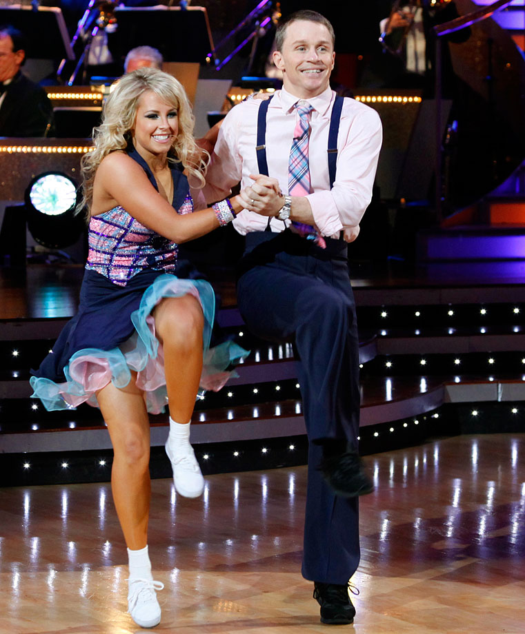 Rodeo champion Ty Murray finished in 4th place with dancing partner Chelsie Hightower in Season 8.