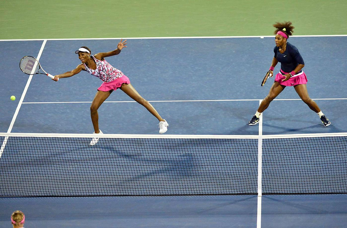 The Williams sisters have both spent time as the top-ranked women's singles players. At one point they held the No. 1 and No. 2 spots and were the No. 1 women's doubles team.