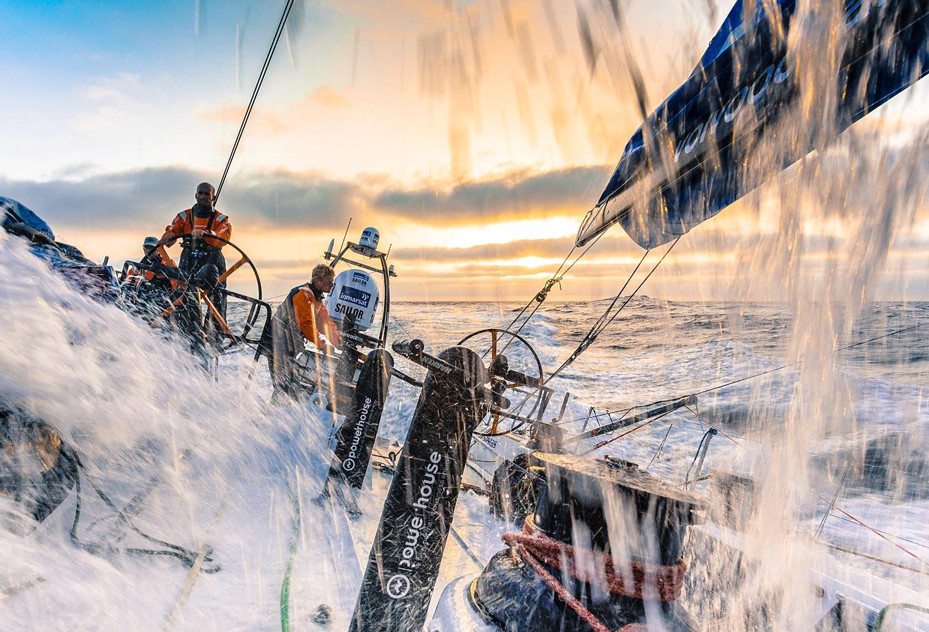 The Volvo Ocean Race 2014-15 is the 12th running of the ocean marathon.