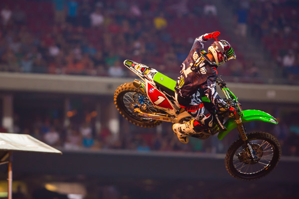 The 25-year-old Supercross champion has been competing in both AMA Supercross and Motocross since 2006 and has compiled 71 total wins.