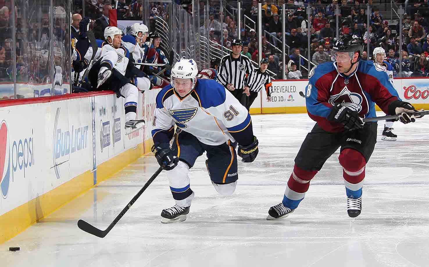 The 16th pick in the 2010 NHL Draft has had his development slowed by injuries the past two seasons, but showed flashes of his great potential, particularly when he lead the Blues with four playoff goals in six games last spring. Tarasenko has enviable puck-handling skills, strength and the ability to battle, and with the arrival of former KHL teammate/current linemate Joro Lehtera and free agent center Paul Stastny, he's set up for a true breakout season. At least 30 goals are expected with coach Ken Hitchcock urging him to shoot more.