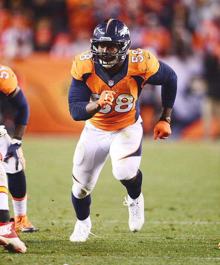 Denver has plenty of players to pick from, but the mention must go to outside linebacker Von Miller. While Miller has dealt with some off-field issues, he is nothing short of a machine on it. Honorable mention: Peyton Manning, Demaryius Thomas.