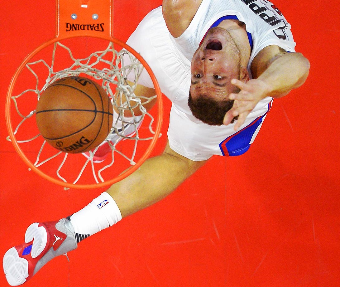 Blake Griffin of the Los Angeles Clippers in a game against the Suns.