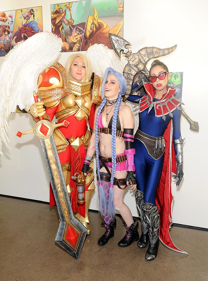 Tribeca Games presents the Craft and Creative of League of Legends in New York City.