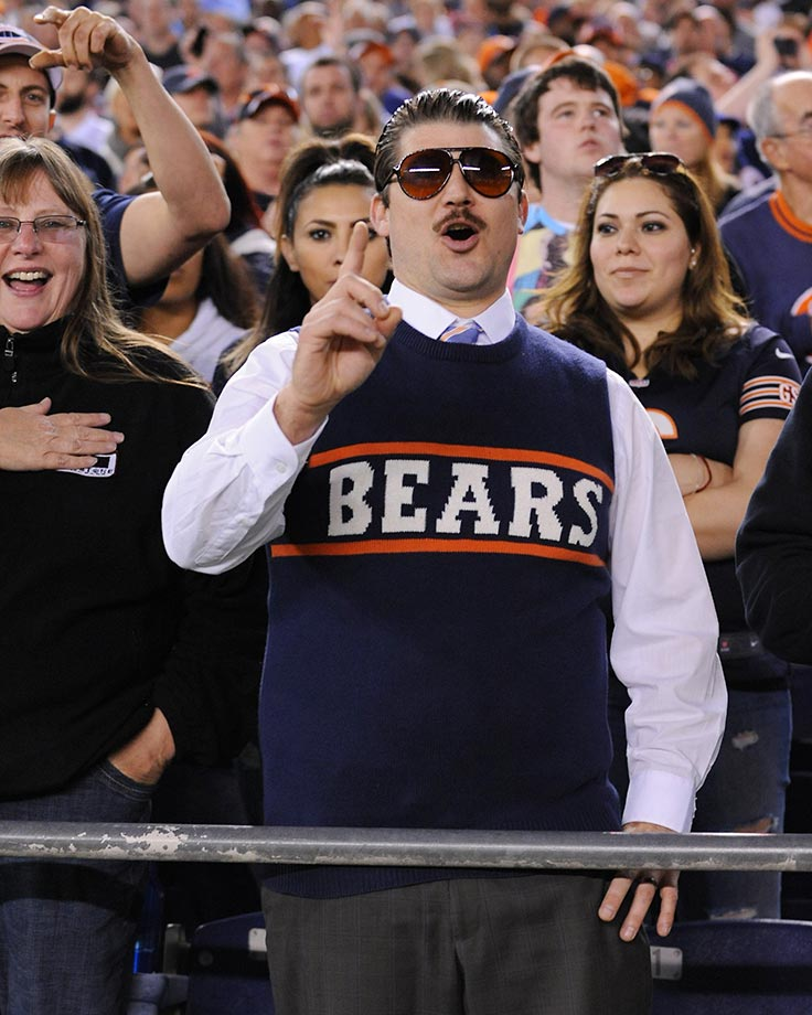 Chicago Bears fans...