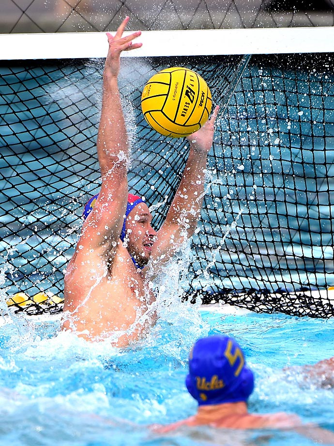 UCLA sophomore goalie Garrett Danner was named to the all tournament first team.