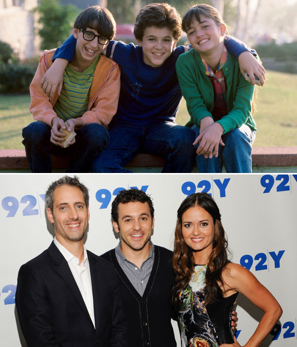 Josh Saviano, Fred Savage and Danica McKellar :: Getty Images