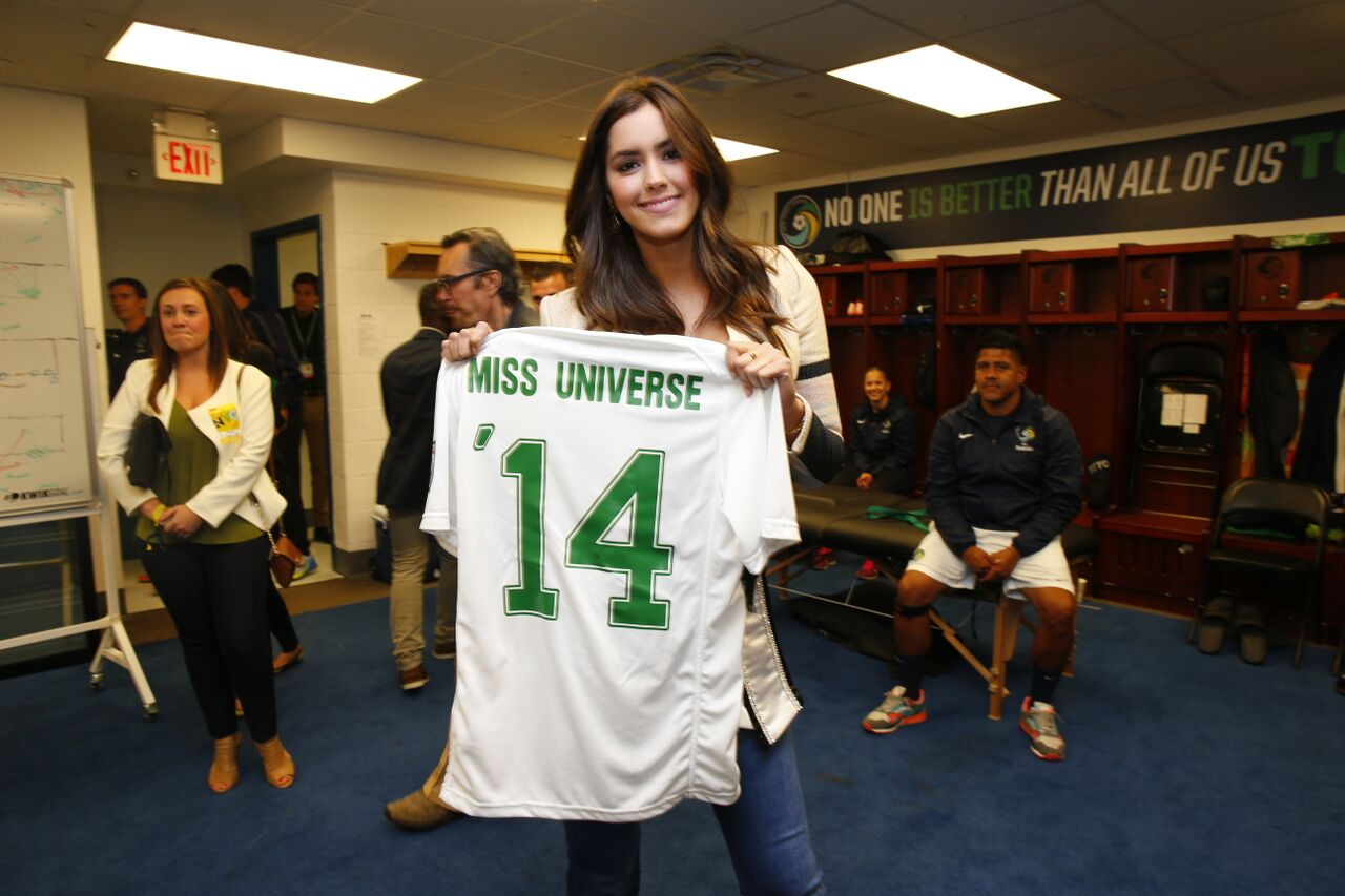 Paulina Vega :: Courtesy of New York Cosmos