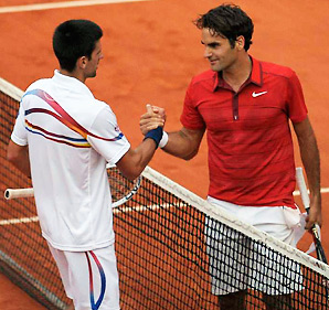 Novak Djokovic's last loss at a major came against Roger Federer in their 2011 French Open semifinal match.