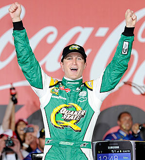 Kasey Kahne is 42 points out of 10th place -- the final guaranteed spot in the Chase