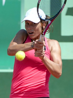 New U.S. citizen Varvara Lepchenko is the last American standing at the French Open.