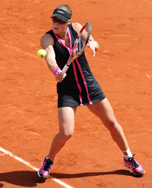 U.S. Open champ Sam Stosur ousted Dominika Cibulkova to reach the French Open semis.