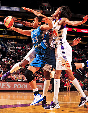 The WNBA is the only viable female pro sports league, but even Maya Moore and the league-best Lynx struggle to attract fans.