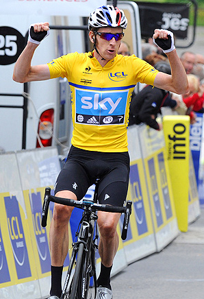 Bradley Wiggins' strong start to 2012 makes him a favorite for the Tour de France.