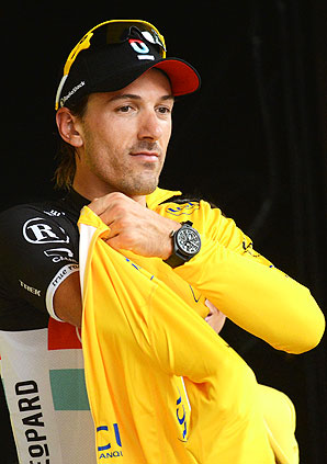 Fabian Cancellara will wear the Tour's yellow jersey for the 27th stage in his career -- the most of any cyclist who has not won the Tour de France.