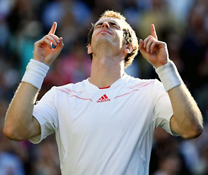 Andy Murray had lost in the Wimbledon semis in each of the last three years.