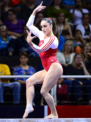 Americans like to watch the Olympics, and athletes like gymnast Jordyn Wieber, once every four years because it's so different from normal sports programming.