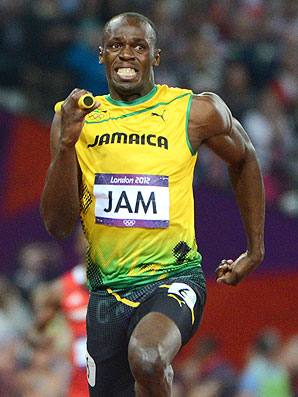 Usain Bolt became the first sprinter to defend his 100 meter and 200 meter Olympic titles.