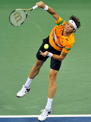 Milos Raonic twice recorded over 30 aces in a match at this year's U.S. Open.