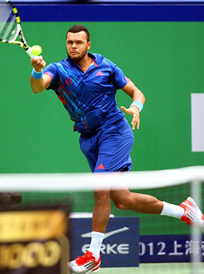 Top-seeded Jo-Wilfried Tsonga also reached the Stockholm quarterfinals.