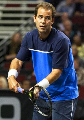 Pete Sampras defeated John McEnroe 6-1.