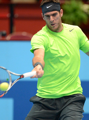 Juan Martin del Potro reached his fourth final of the year on Saturday.